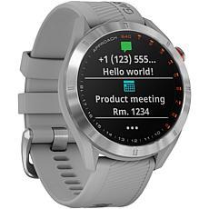 Garmin Approach S40 GPS Golf Smartwatch in Stainless Steel