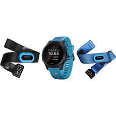 Garmin Forerunner 945 Premium Running Watch Blue Bundle