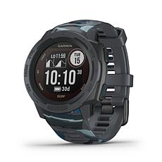Garmin Instinct Solar Surf Edition GPS Smartwatch (Pipeline)