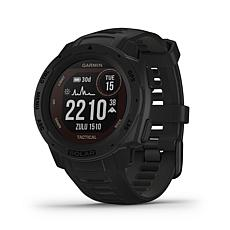 Garmin Instinct Solar Tactical Edition GPS Smartwatch (Black)