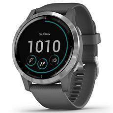 Garmin Vivoactive 4 GPS Smartwatch in Silver and Gray