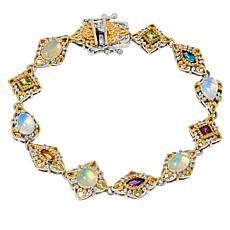 Gems by Michael Valitutti Opal and Multigemstone Line Bracelet