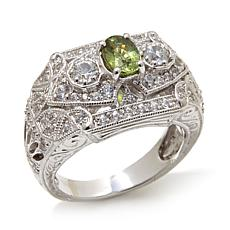 Generations® 1912 - 1.40ctw Green Garnet-Zircon Ring