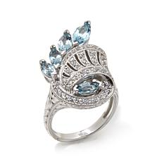 Generations® 1912 - 1.63ctw Santa Maria Blue Aquamarine  Ring