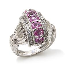 Generations® 1912 - 1.64ctw Pink Sapphire and Zircon Ring