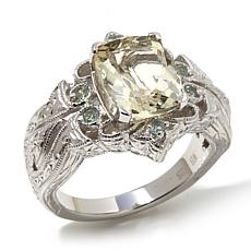 Generations® 1912 - 2.22ctw Yellow Orthoclase and Alexandrite  Ring