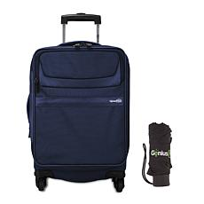"""Genius Pack G3 22"""" Carry-On Spinner Luggage with Umbrella"""