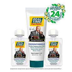 George Foreman Knockout Bundle from Real Time Pain Relief