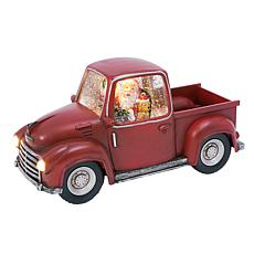"Gerson 8.75""L Battery-Operated Water Globe Truck with Timer Feature"