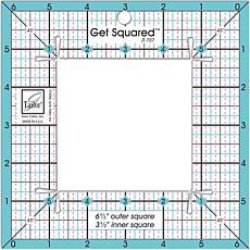 "Get Squared Ruler - 6-1/2"" Outer, 3-1/2"" Inner"