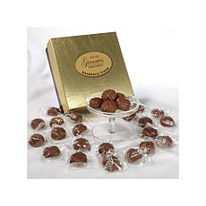 Giannios 1 lb. of Raspberry Creams in a Golden Box