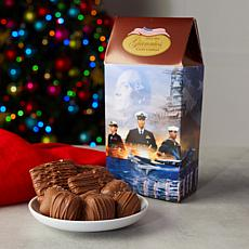 Giannios 4lbs Assorted Chocolates w/8 Flavors in Military-Themed Boxes
