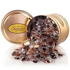 Giannios 5.5 lbs. Assorted Chocolates in Gold Tin- Receive in December