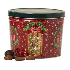 Giannios 5.5 lbs. Assorted Chocolates in Warm Wishes Tin- Rec.November