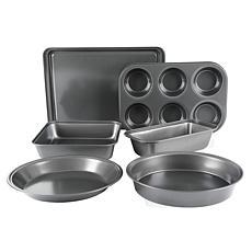 Gibson Home Metallux 6-Piece Bakerware Set