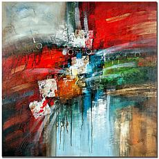 """Giclee Print - Cube Abstract IV 24"""" x 24"""""""