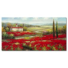 """Giclee Print - Field of Poppies 32"""" x 16"""""""