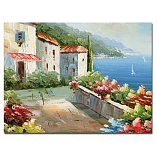 """Giclée Print - Rio Mediterranean View 26"""" x 32"""""""
