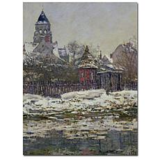 """Giclee Print -  The Church at Vetheuil 1879 14"""" x 19"""""""