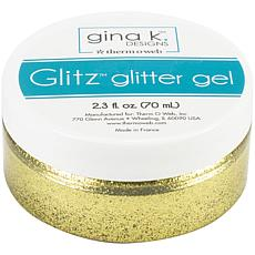 Gina K Designs Glitz Glitter Gel, 2.3oz - Gold
