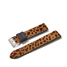 Giorgio Milano Interchangeable Leopard-Look Watch Strap