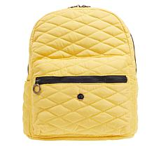 Girlfriend Gear Diamond Quilt Backpack