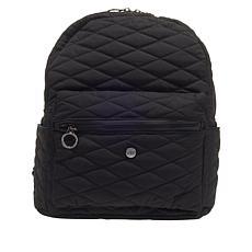Girlfriend Gear Diamond Quilt Backpack