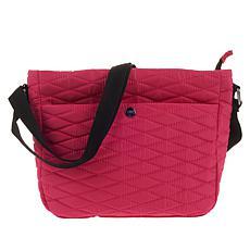 Girlfriend Gear Diamond Quilt Crossbody Travel Bag
