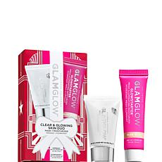 GLAMGLOW Clear and Glowing Skin Mask and Moisturizer Duo