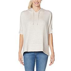 Gloria Vanderbilt Lifewear Zuri Dolman-Sleeve Hoodie