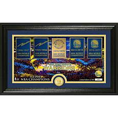 """Golden State Warriors """"Traditions"""" Panoramic Bronze Coi"""