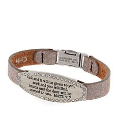 "Good Work(s) ""Ask and It Will Be Given to You"" 7"" Bracelet"
