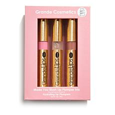 Grande Cosmetics GrandeLIPS Made You Blush Lip Plumping Trio
