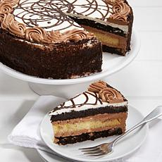 "Great American Desserts 10"" 4.75 lb. Layered Chocolate Cake"