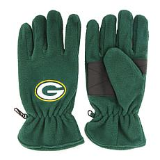 Green Bay Packers NFL Embroidered Fleece Gloves