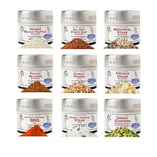 Gustus Vitae Seasoning 9-pack Spice Set