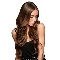 "Hairdo Hairpieces 20"" Midnight Brown Clip-Free Halo Extension"