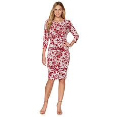"Hal Rubenstein The ""Carmen"" Draped Floral Dress"