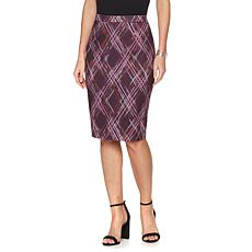 "Hal Rubenstein The ""Celeste"" Diamond Plaid Skirt"