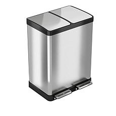 halo™ 16-Gallon Combination Recycling and Trash Can