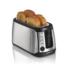 Hamilton Beach Keep Warm 4-Slice Long-Slot Toaster