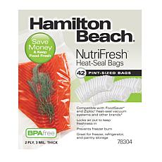 Hamilton Beach Nutri-fresh Heat-Seal Bags