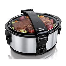 Hamilton Beach® Stay or Go 6 qt. Portable Slow Cooker