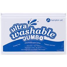 Hampton Art Jumbo Washable Ink Pad - Blue