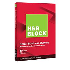 H&R Block Premium Tax Software for Federal and State Taxes