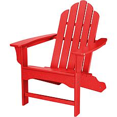 Hanover All-Weather Contoured Adirondack Chair - Red