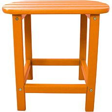 Hanover All-Weather Side Table - Tangerine
