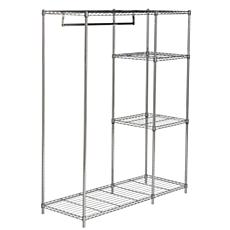 "happimess Eliza 59"" Adjustable Wardrobe Rack - Chrome"
