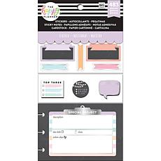 Happy Planner Note Cards/Sticky Note Multi Pack - Chalkboard Teacher