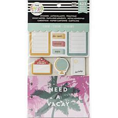 Happy Planner Note Cards/Sticky Note Multi Pack - Stay Sharp Student